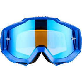 100% Accuri Anti Fog Mirror Goggles reflex blue